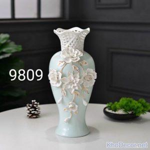 Bình hoa nghệ thuật bằng sứ BH012