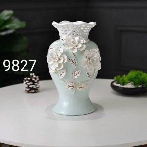 Lọ hoa decor gốm sứ cao cấp BH014