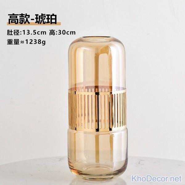 Bình hoa thủy tinh cao cấp BH016