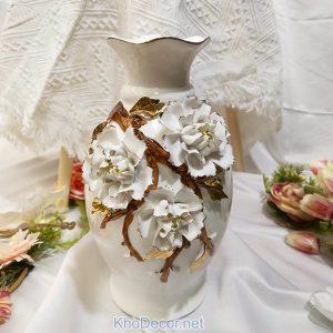 Lọ hoa sứ tráng men BH003