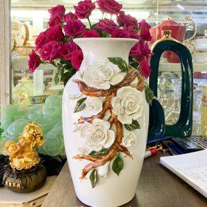 Mẫu lọ hoa sứ tráng men Bh006