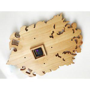 Mặt sau Đồng hồ gỗ cao cấp DH015