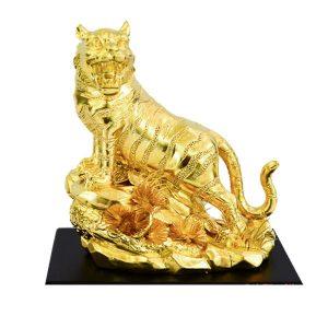 Tượng hổ phong thủy mạ vàng HND005
